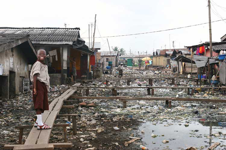 Research on impact of slum - adirm research center